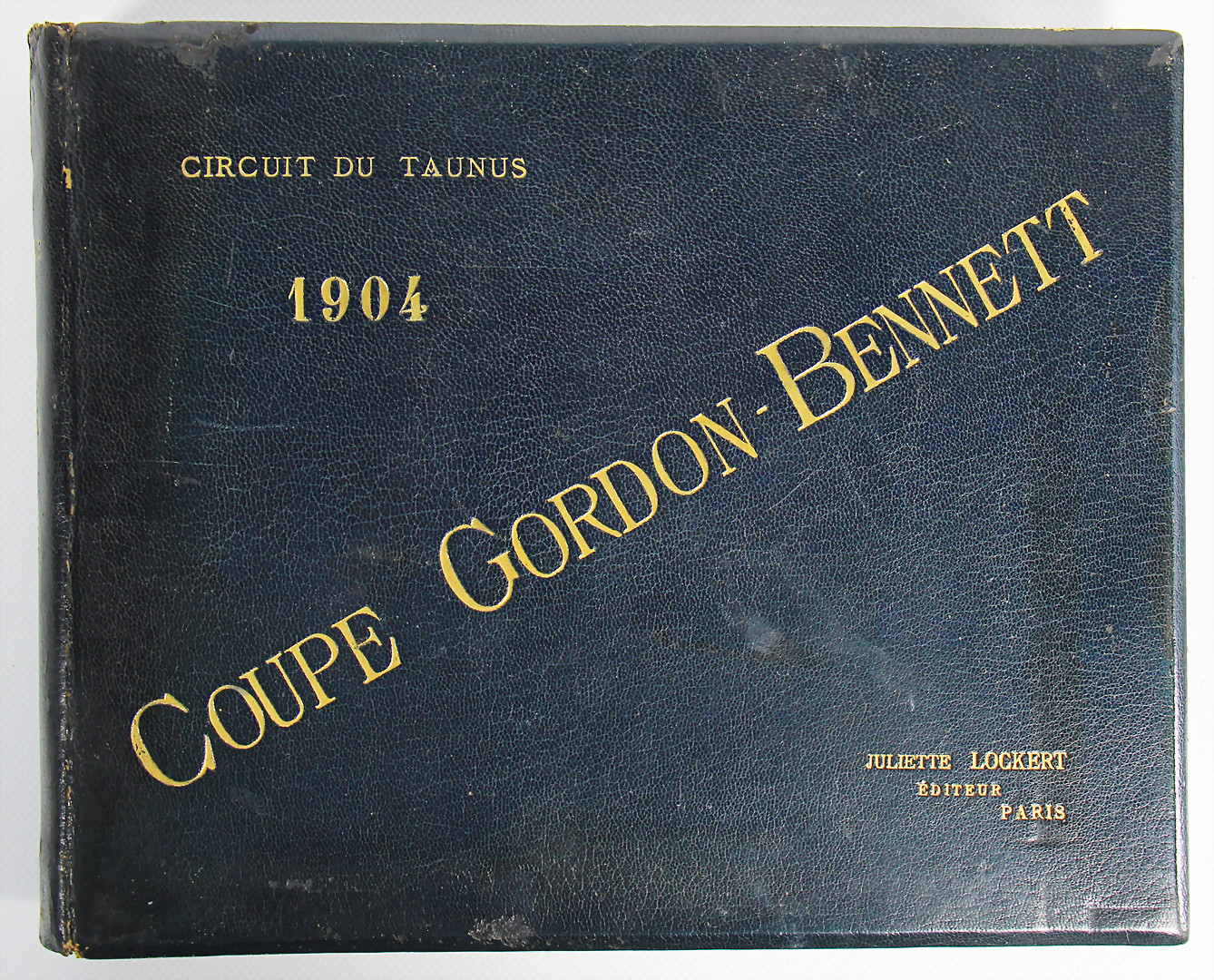 Album Coupe Gordon Bennett 1904 - hammer price 7.200 €