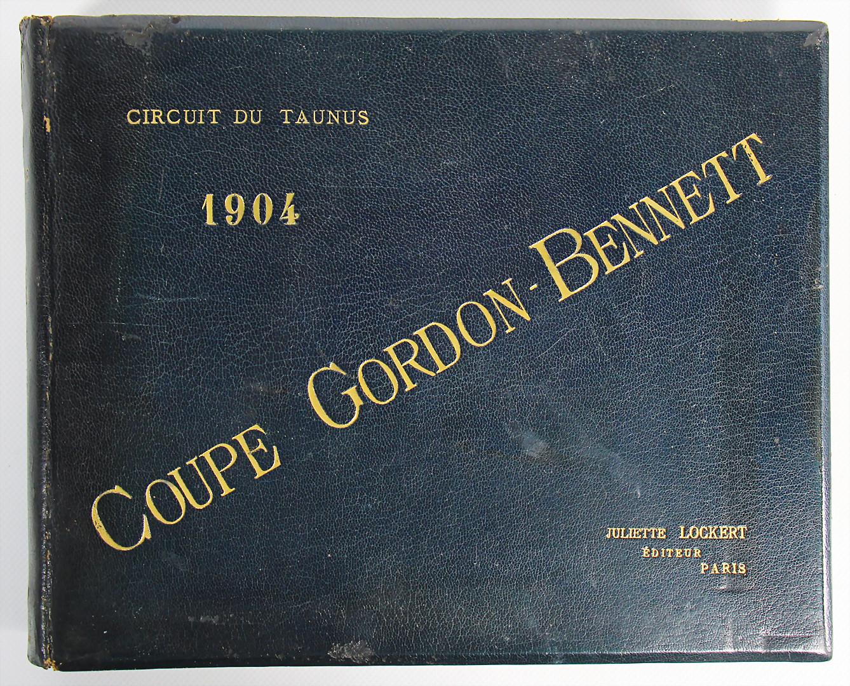 Album Coupe Gordon Bennett 1904 - Zuschlag 7.200 €