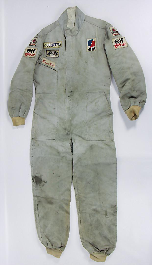 Francois Cevert/Tyrrell Ford 006, Original Rennanzug, getragen beim Grand Prix Deutschland 1973 - Zuschlag 14.000 €