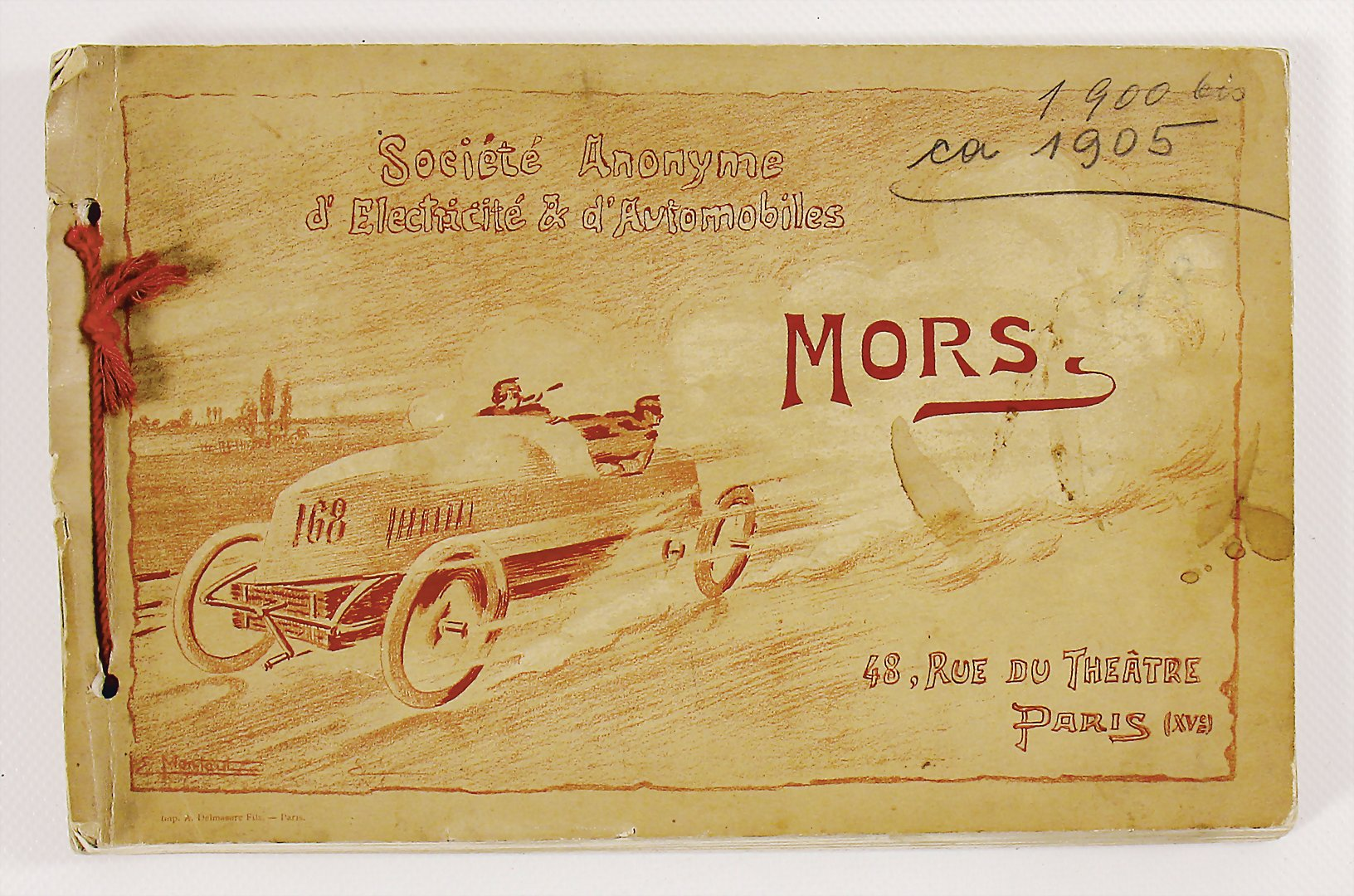 1905 Catalog Mors - hammer price 3.000 €