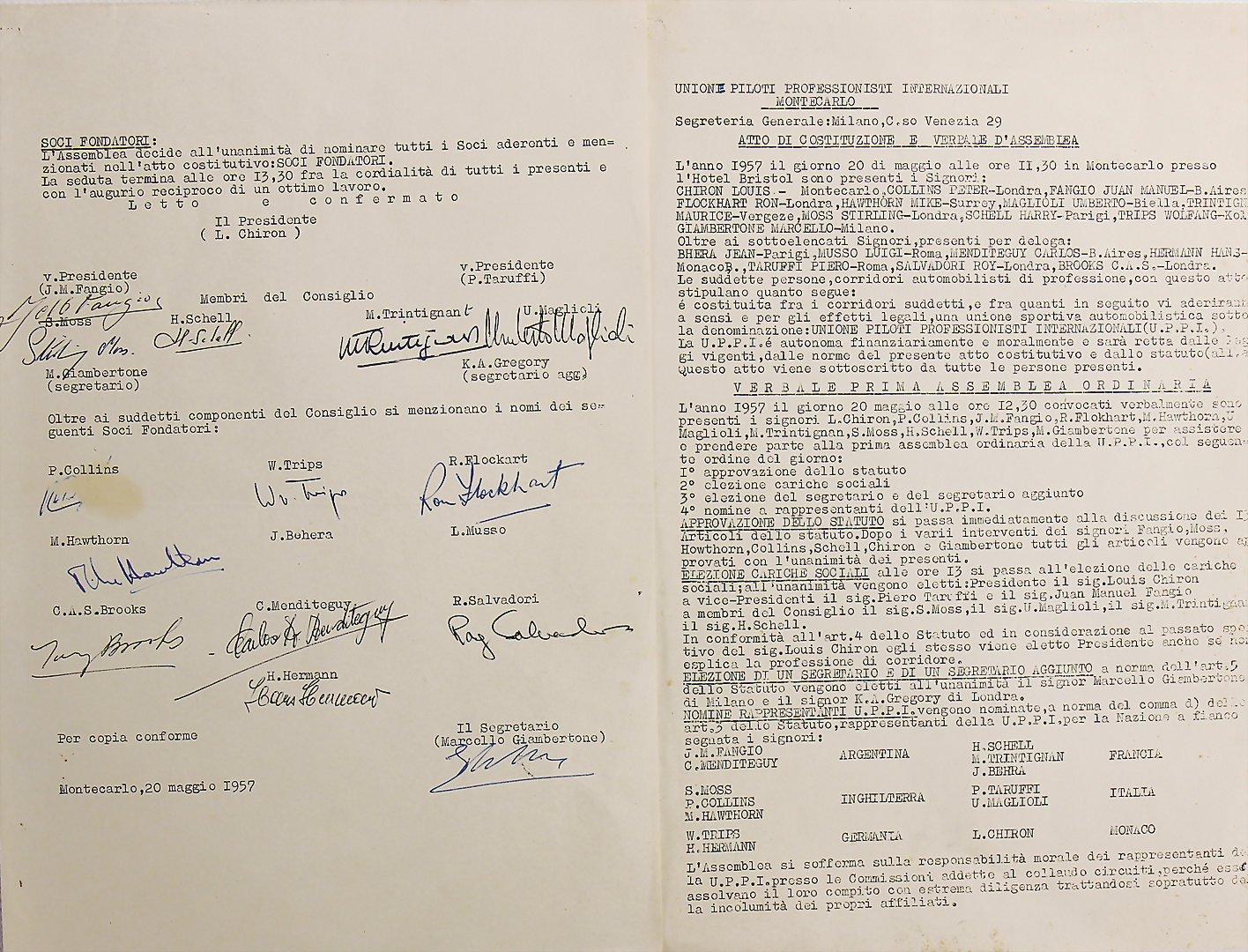 UPPI Monte Carlo 20. Mai 1957 - Zuschlag 23.500 €