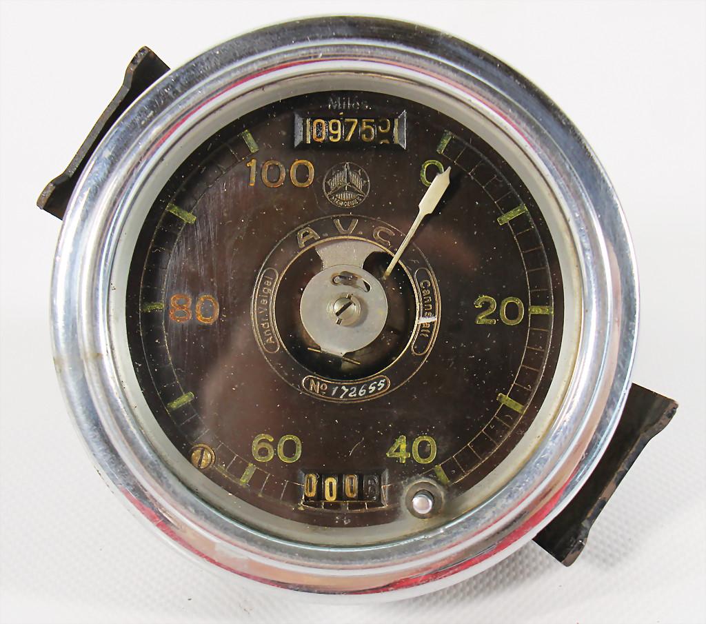 Daimler Motoren Ges. speedometer - result 5.200 €