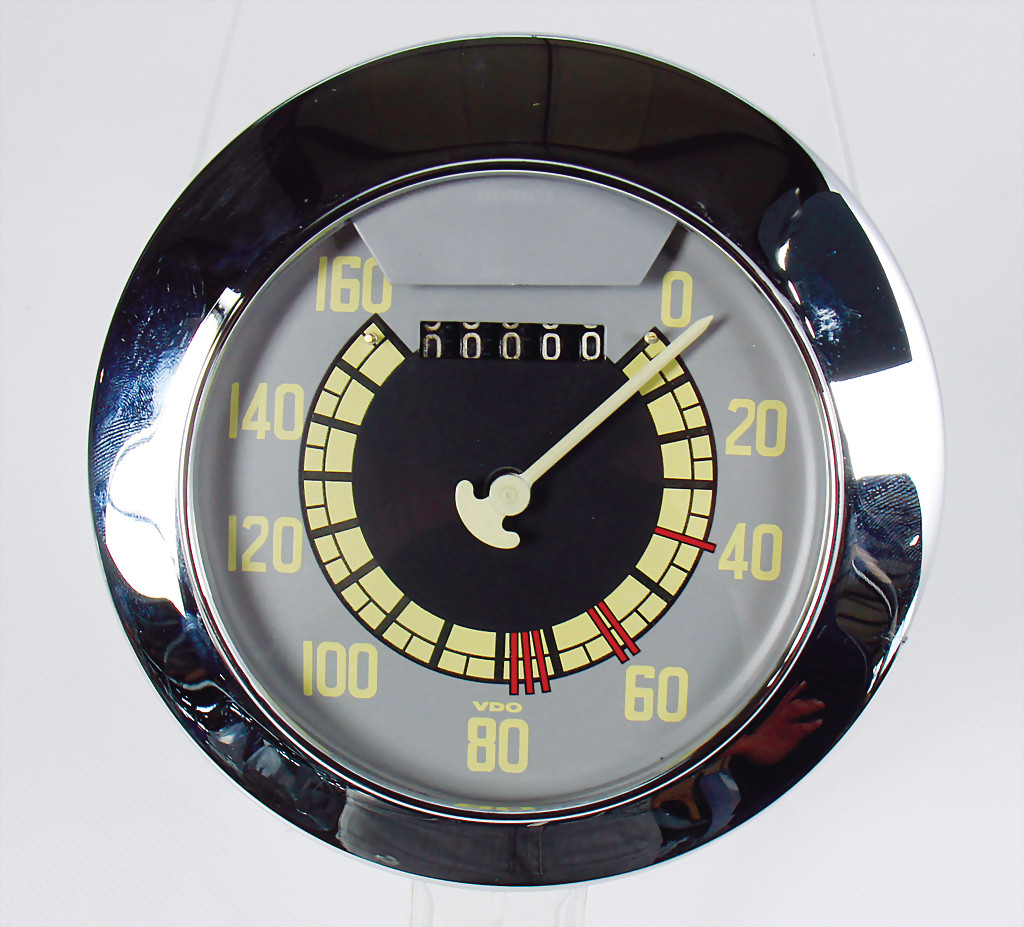 Porsche speedometer Typ 356 Gmünd - result 7.500 €