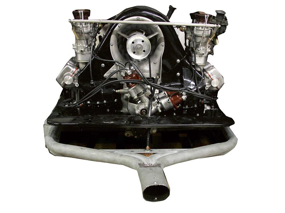 Porsche 356 1600 Carrera engine