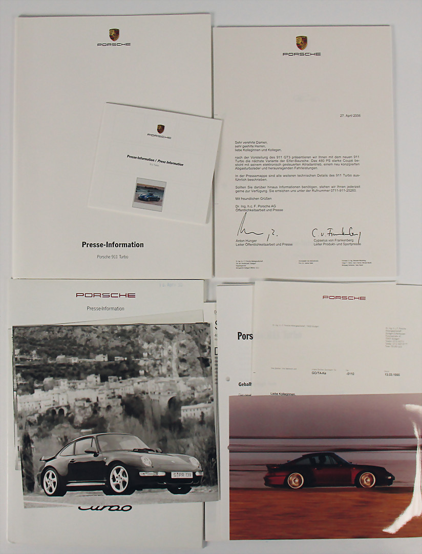 2008 Porsche 911 Turbo Deluxe 120-page Original Sales Brochure Book