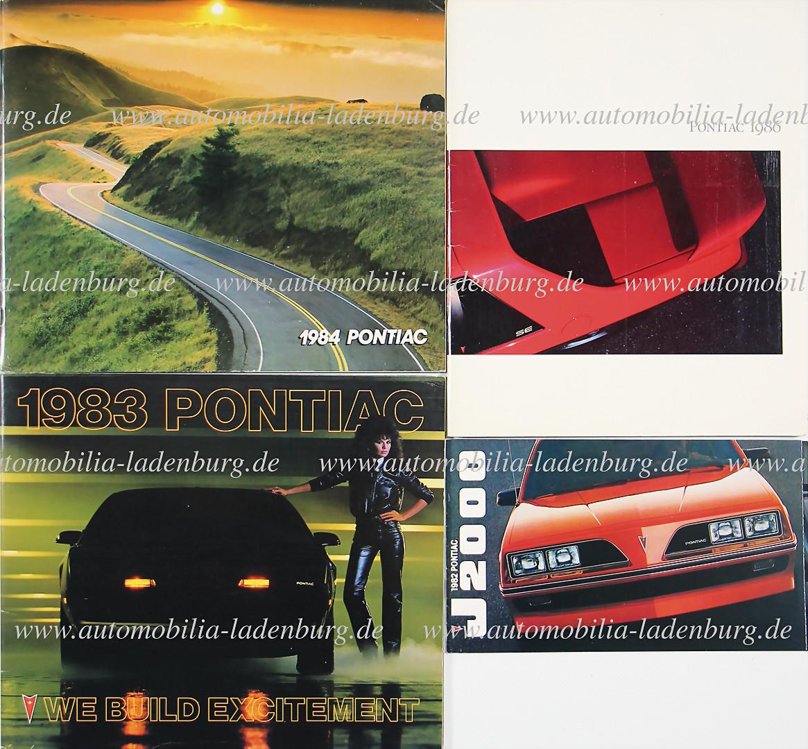 1983 1984 Chevrolet Corvette Sales Brochure Catalog 58-PAGE without folder