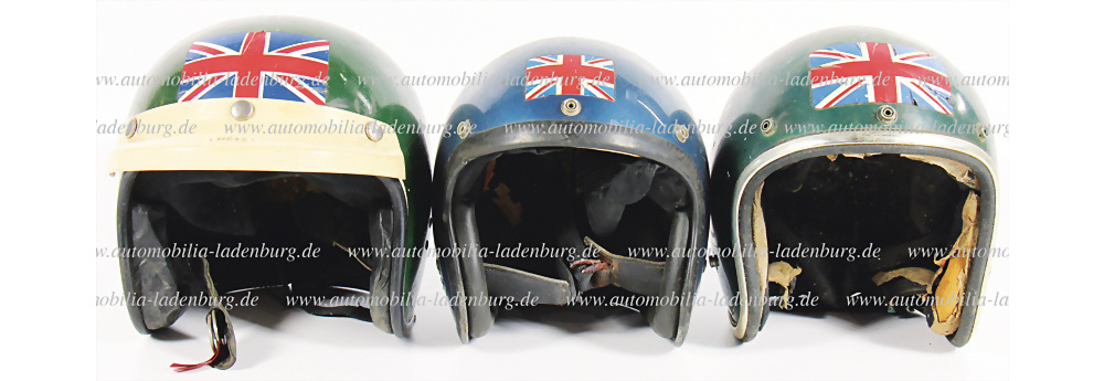 No. 120 - 3 helmets Richard Bond