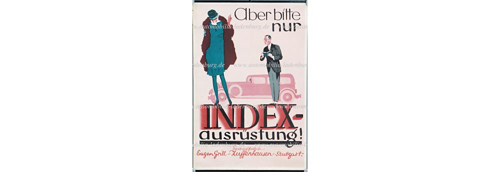 No. 2018 - Plakat 20er Jahre Eugen Grill Zuffenhausen