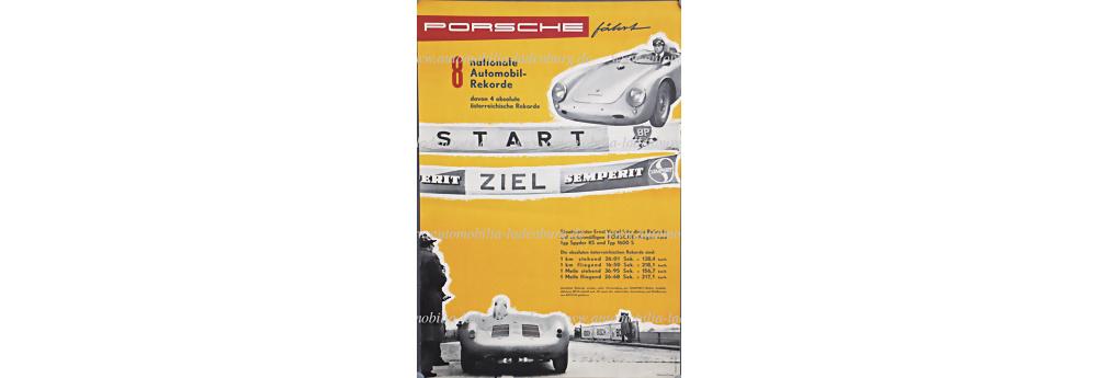 No. 2060 - Porsche racing poster