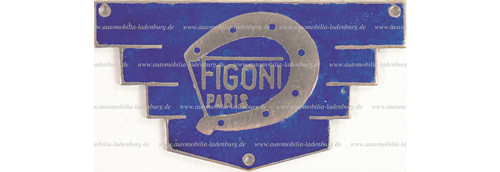 No. 3141 - Figoni 20er Jahre car body badge
