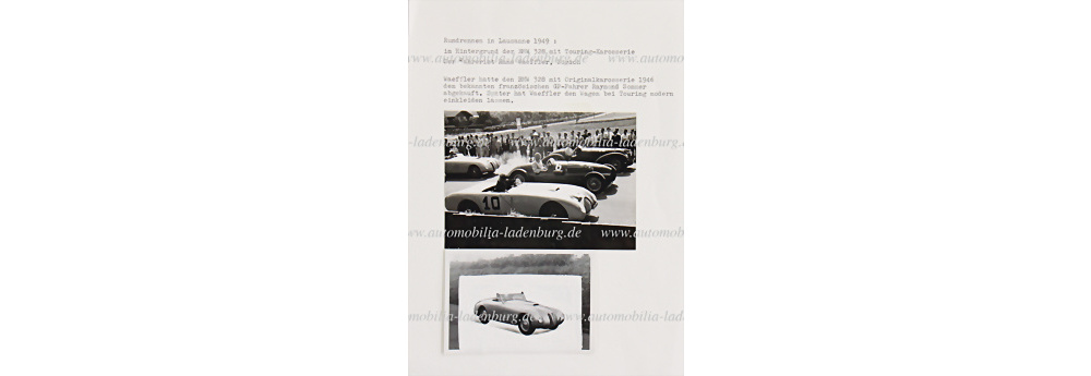 No. 6035 - BMW GP Lausanne 1949