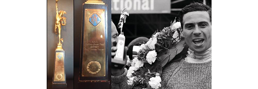 Jim Clark 1962 Großer Preis von Großbritannien Aintree Trophäe