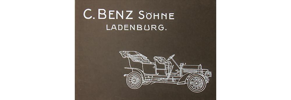 Carl Benz und Söhne Ladenburg Verkaufskatalog