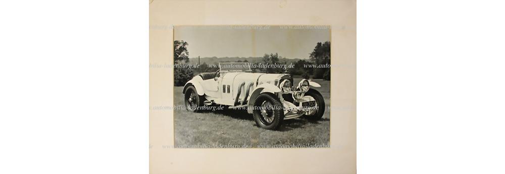 Mercedes Benz SSK original S/W Aufnahme