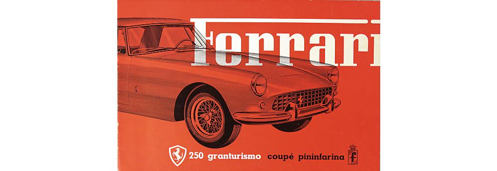 Ferrari 250 Granturismo Coupe Verkaufsprospekt