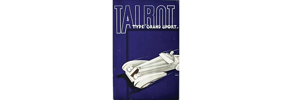 Talbot Type Grand Sport Verkaufskatalog