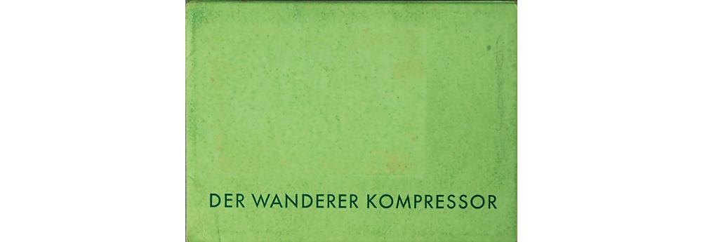 Der Wanderer Kompressor Verkaufskatalog