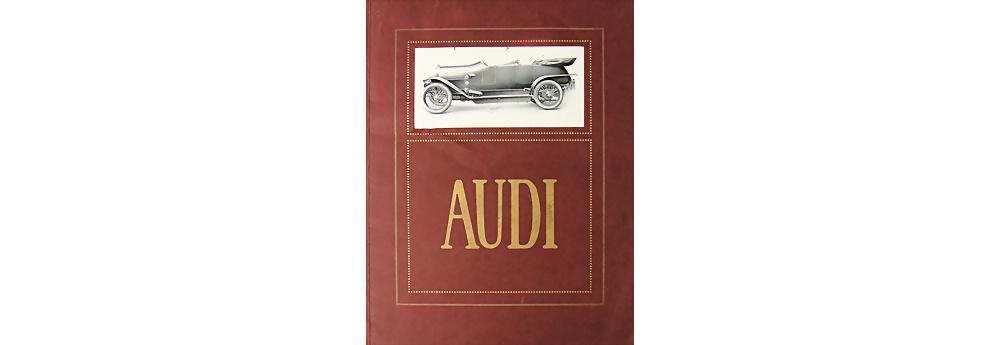 1910 AUDI Verkaufskatalog 32 Seiten Modellprogramm
