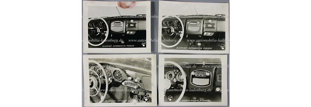 Porsche 4 original Wekaufnahmen Blaupunkt Autoradio für Porsche Pre A