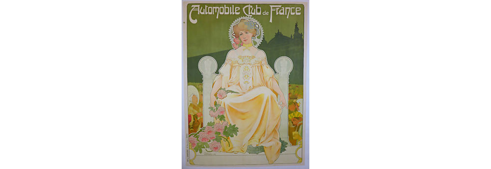 Werbeplakat Automobile Club de France, 1903