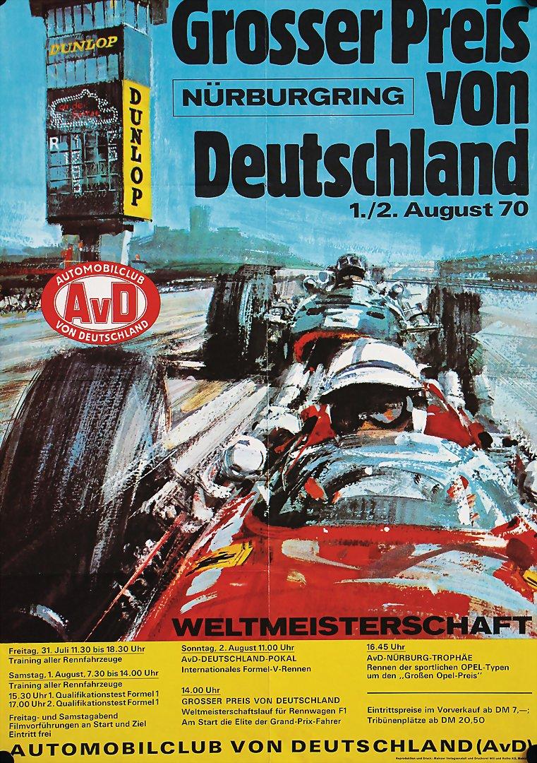 Bright Adac Avd Aufkleber 300km Rennen Nürburgring 28.märz 1982 Sticker Goodyear Gp Auto & Motorrad: Teile