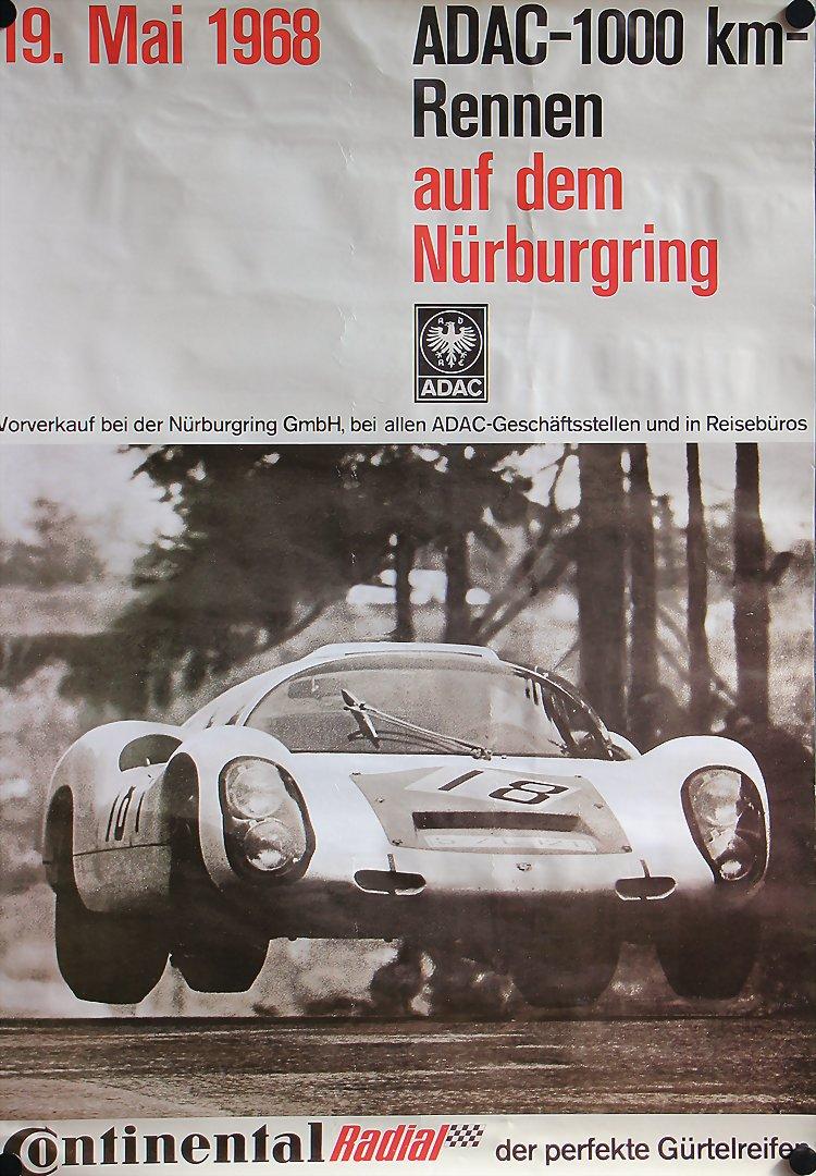 Aufkleber Bright Adac Avd Aufkleber 300km Rennen Nürburgring 28.märz 1982 Sticker Goodyear Gp Accessoires & Fanartikel