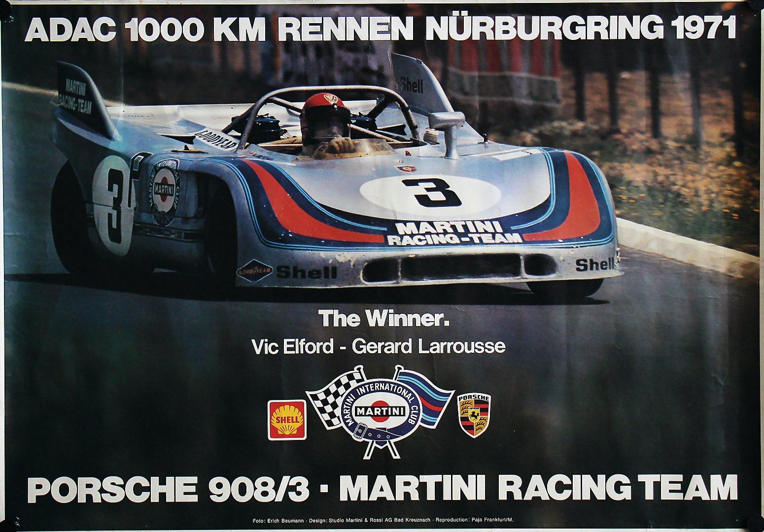 Automobilia Bright Adac Avd Aufkleber 300km Rennen Nürburgring 28.märz 1982 Sticker Goodyear Gp