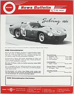 1:43 FERRARI 250 Testarossa 30 Fabbri Gendebien // Hill 24H Le Mans 1958