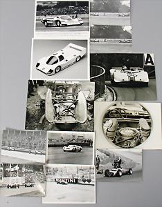 """82 Repro-Karton für JNF Mercedes Rennwagen /""""Record/"""" Nr"""