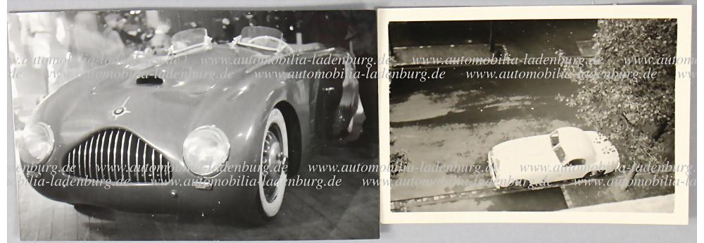 Nr. 3768 - Originale S/W Aufnahmen Veritas Comet und Scorpion