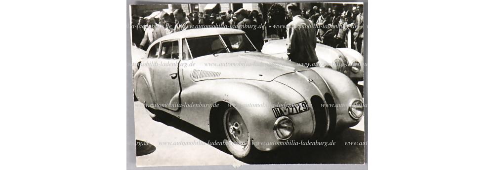 Nr. 3783 - S/W Aufnahme BMW 328 Kamm Coupé Mille Miglia 1940