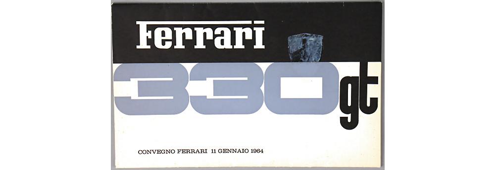 Nr. 3791 - Verkaufsmappe Ferrari 330 GT