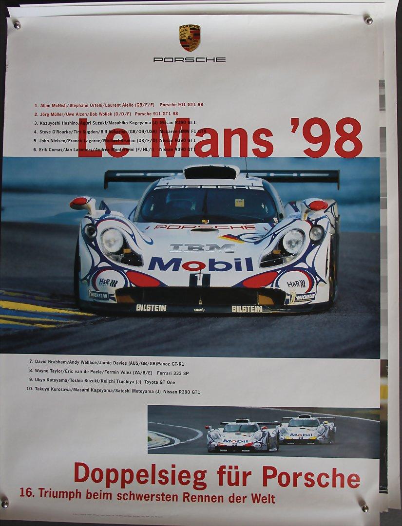 Blechschild 30 X 20 cm Steve McQueen LE MANS