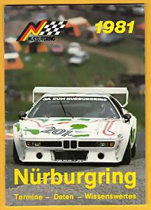 Poster & Bilder Nürburgring Jahresprogramme Konvolut