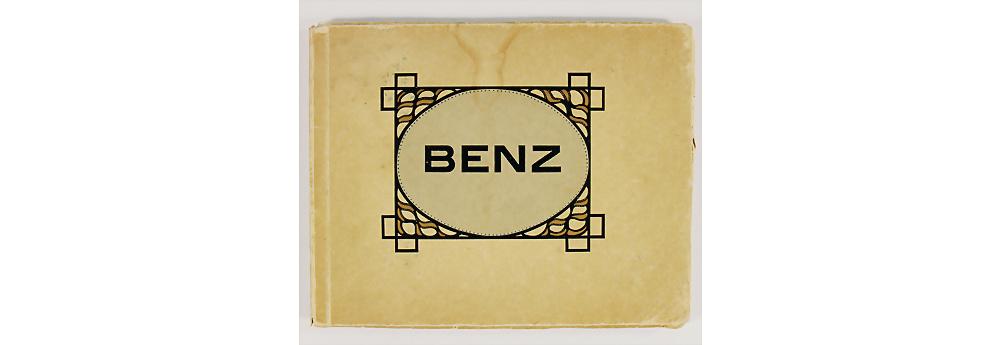 Nr. 126 - BENZ & CIE. Verkaufskatalog 'Die Benz Wagen vom ersten Benzin-Automobil bis zum Weltrekordwagen'
