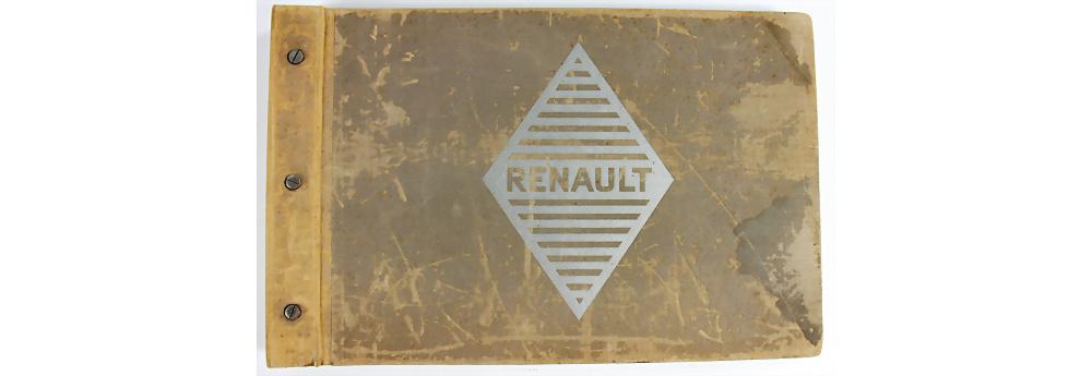 Nr. 135 - RENAULT Verkäuferkatalog 'Les Voitures de Tourisme', ca. 1913