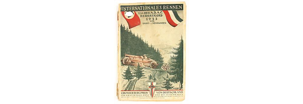 Nr. 169 - Rennprogramm Großer Bergpreis von Deutschland, Schauinsland 1933