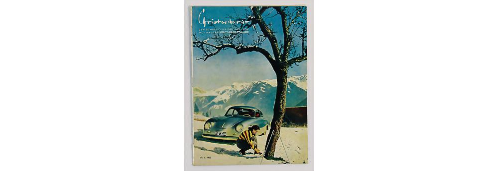 Nr. 1760 - PORSCHE - Zeitschrift Christophorus, Ausgabe Nr. 1, 1952