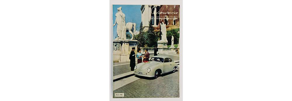 Nr. 1761 - PORSCHE - Zeitschrift Christophorus, Ausgabe Nr. 2, 1952