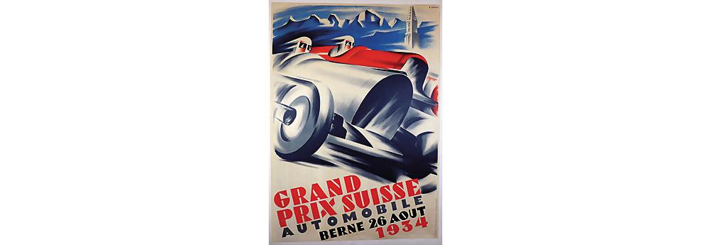 Nr. 2001 - Veranstaltungsplakat Grand Prix Schweiz 1934