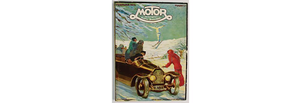 Nr. 401 - Zeitschrift 'Motor'