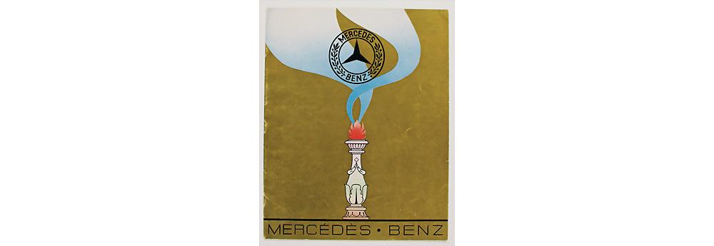 Nr. 433 - MERCEDES-BENZ 1927, Verkaufskatalog 16 Seiten