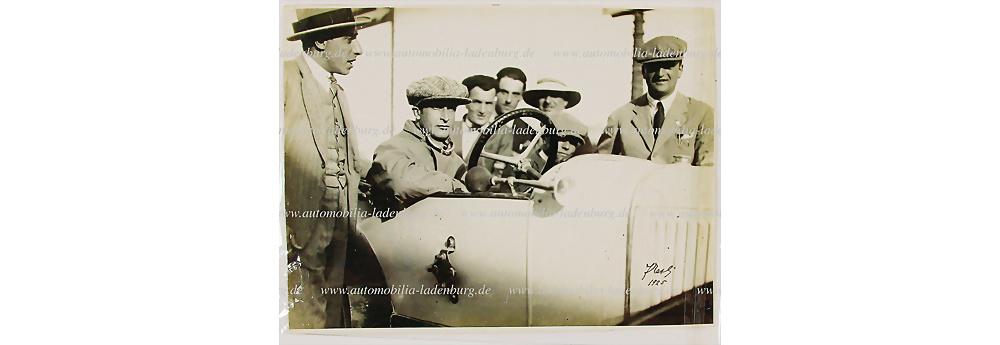 Nr. 6268 - Original s/w Aufnahme Enzo Ferrari von 1925