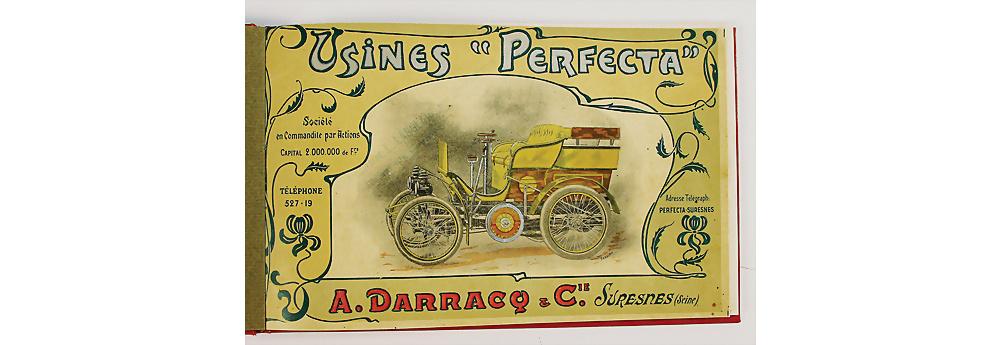 Nr. 91 - DARRACQ - Originalkatalog Darracq Perfecta 1899
