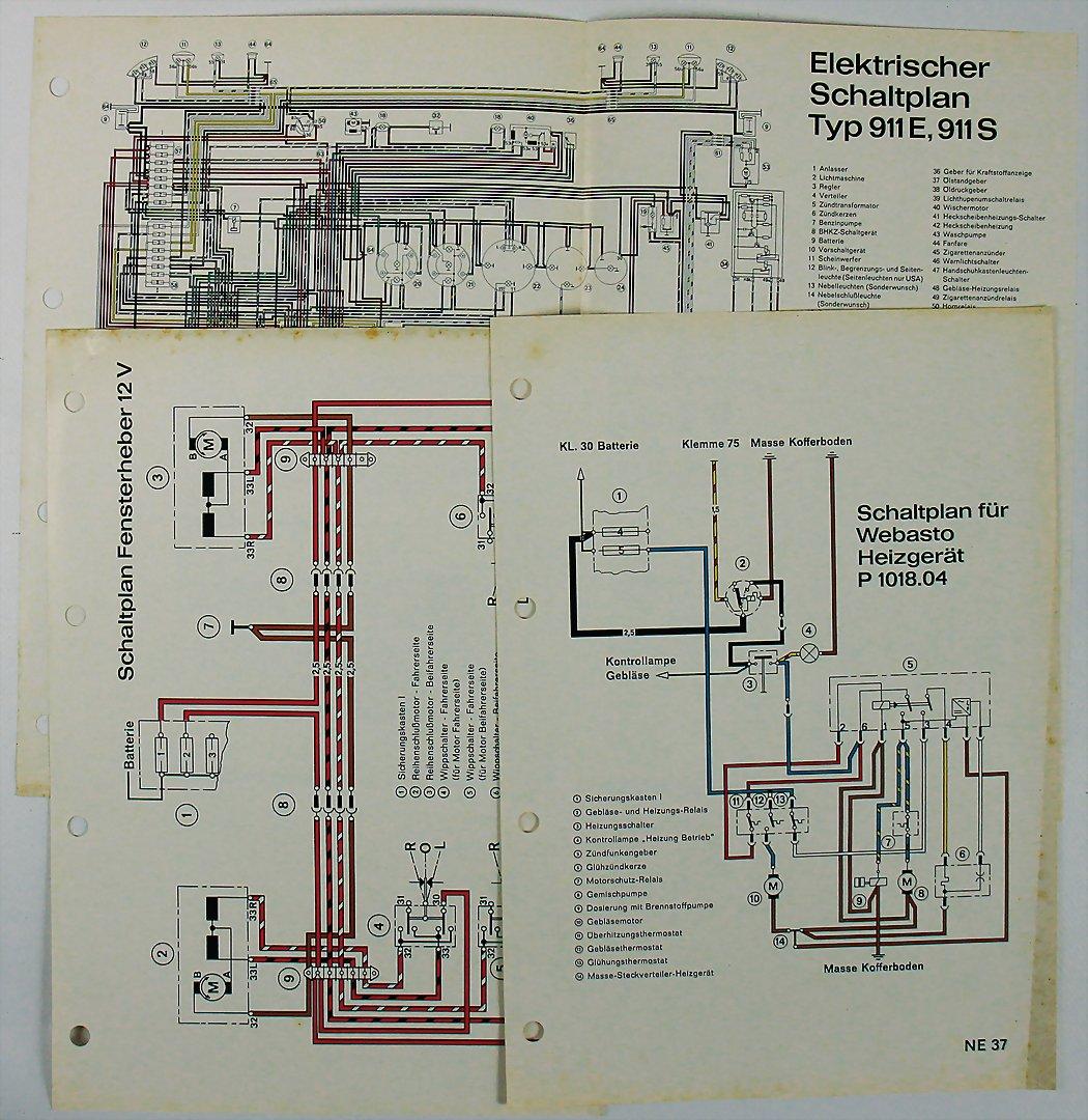 Automobilia Ladenburg Marcel Seidel Auctions Complete Electrical Wiring Diagram Of Porsche Type 912