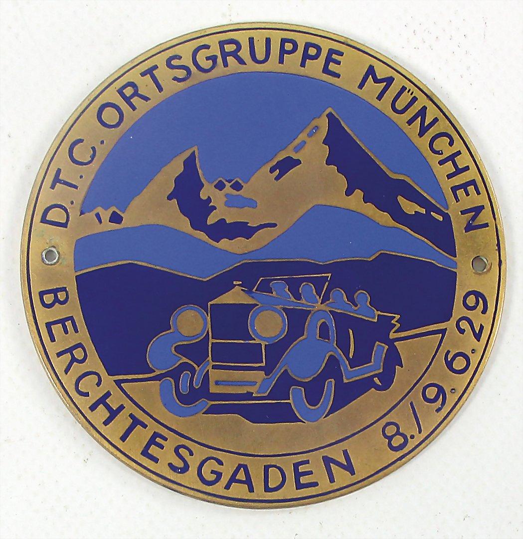 Automobilia Accessoires & Fanartikel Adac Nachtorientierungsfahrt Plakette Emblem