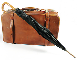 07362cac58be No. 3041 brown frame suitcase made of core leather