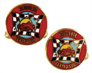 Fina Pin Badge Tankstellen Logo Wappen HüBsch Und Bunt Auto & Motorrad: Teile