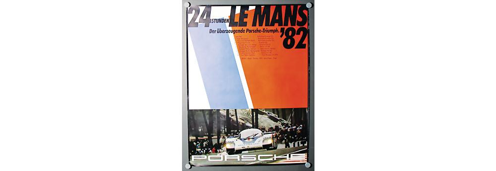 Nr. 120 - Porsche 24 Stunden LeMans 82