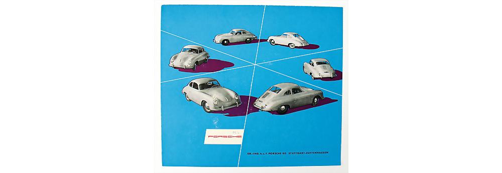 Nr. 13 - 1953, Faltprospekt Porsche 356